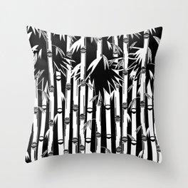 Bamboo Field Throw Pillow