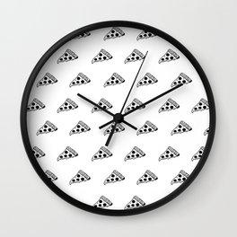 Pizza Rain Wall Clock