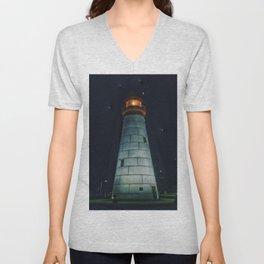 Light House Unisex V-Neck