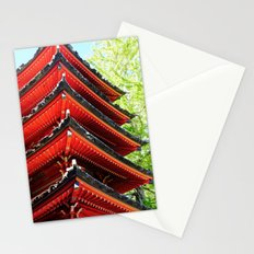 Red Pagoda Stationery Cards