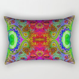 Seed 2 the Soul/ Worn Rectangular Pillow