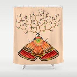 tree moth (ORIGINAL SOLD). Shower Curtain
