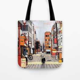 Early Morning Ride Tote Bag