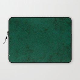 Green suede Laptop Sleeve