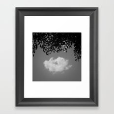 Little cloud Framed Art Print