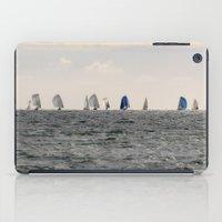 sailing iPad Cases featuring sailing by habish