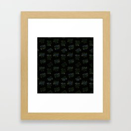 DIGIFLORAL Framed Art Print