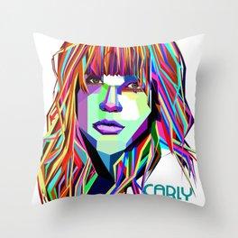 Carly Rae Jepsen Throw Pillow