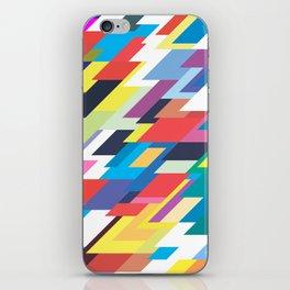Layers Triangle Geometric Pattern iPhone Skin