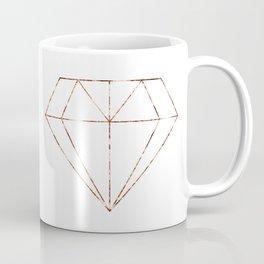 Rose gold foil diamond Coffee Mug