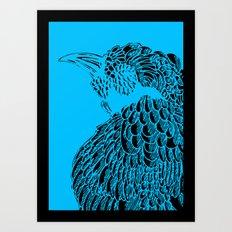 Birdhead Art Print