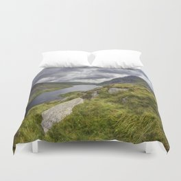 Tryfan and Lake Ogwen Duvet Cover