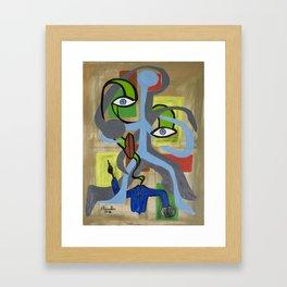 The Christ Framed Art Print