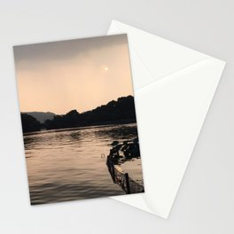 PERSPECTIVE // Sunset over West Lake, Hangzhou Stationery Cards