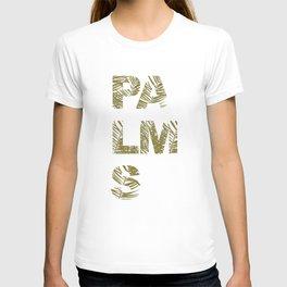 Palms Typo  #society6 #decor #buyart T-shirt