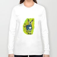 donkey Long Sleeve T-shirts featuring Donkey by t i t i l l a