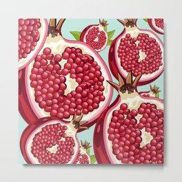 Pomegranate 2 Metal Print