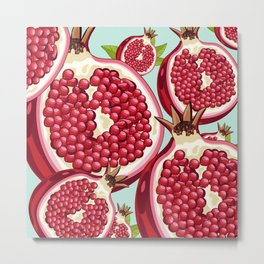 Pomegranate 2 Metal Print