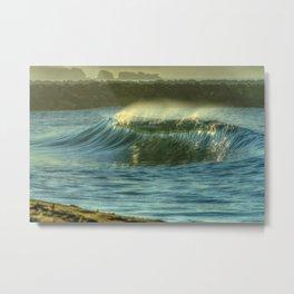Dreamy Wedge Wave Metal Print