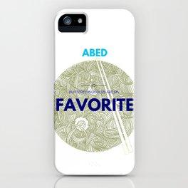 Community ABED Quotes iPhone Case