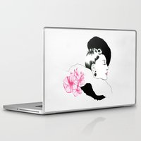 helen green Laptop & iPad Skins featuring Helen by youdesignme