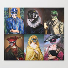 Classical Rangers Canvas Print