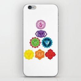 Seven Chakras iPhone Skin