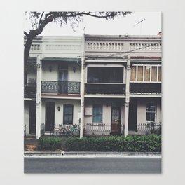 Street View Canvas Print