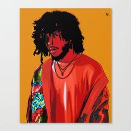 6LACK Canvas Print