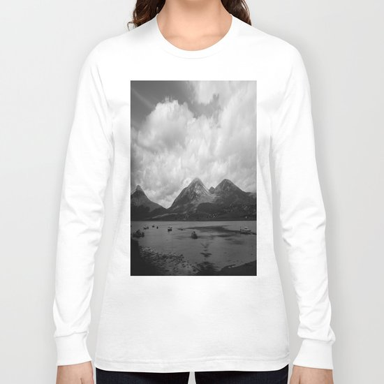 Colorless Paradise Long Sleeve T-shirt
