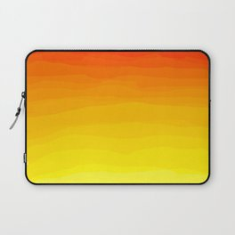 Red to Yellow Sunset Laptop Sleeve