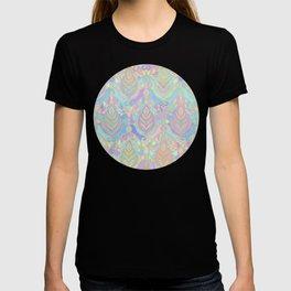 Jade & Blue Enamel Art Deco Pattern T-shirt