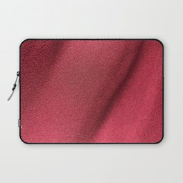 Red Polyester clothing texture. Laptop Sleeve