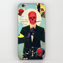 What Is This Mad Obsession With Freedom? iPhone Skin