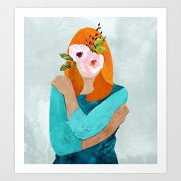 Embrace Change #painting #concept Art Print