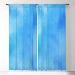 Blue Wash Blackout Curtain
