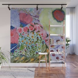 Second Flowers Wall Mural