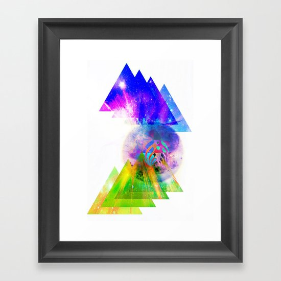 Above & Beyond Framed Art Print