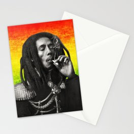 marley bob general portrait painting | Up In Smoke Fan Art Stationery Cards
