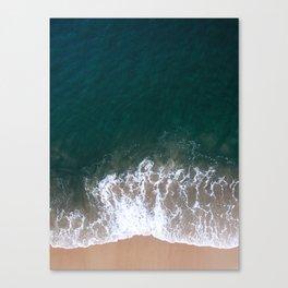 Vitamin Sea - Aerial Drone Photograph by Nalu Art Studio Canvas Print