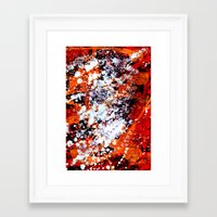 batik Framed Art Prints featuring batik by ifcha