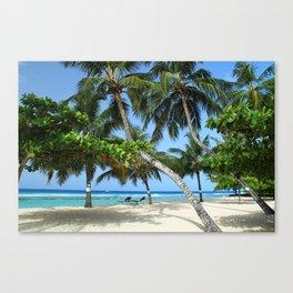 Beach Heaven Canvas Print