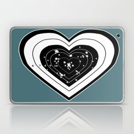 Don't use my heart for Target Practice Laptop & iPad Skin