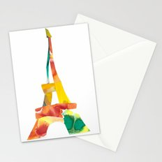 Colorful France Stationery Cards