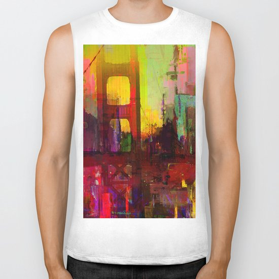 And the night comes Biker Tank