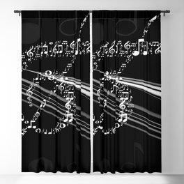 DT MUSIC 8 Blackout Curtain