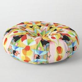 Kaleidoscope Fiesta Floor Pillow