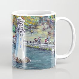 Roath Park Lake, Cardiff Coffee Mug
