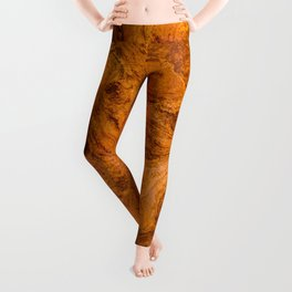 Natural Stone Art-The Cistern, Gold Butte, NV Leggings