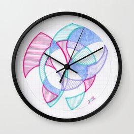 Cirque-Cle #5 Wall Clock